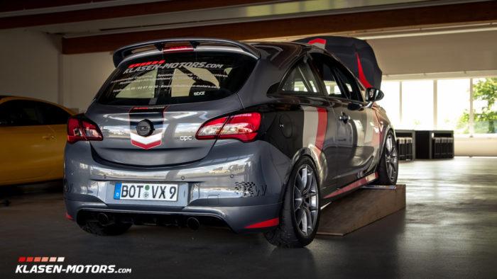 Klasen Corsa-E OPC Tracktool – Klasen-Motors.com